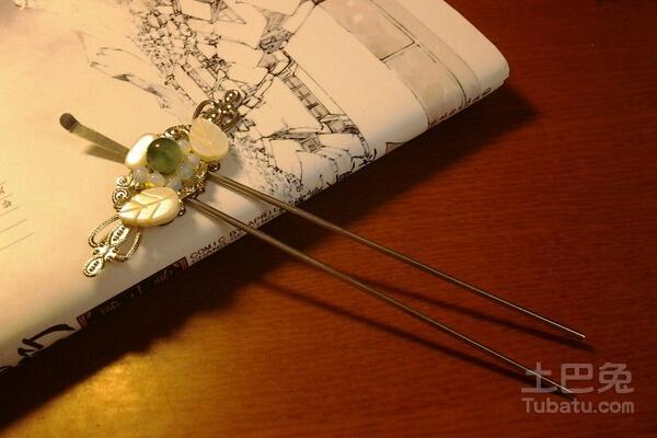 簪子的用法 用发簪盘发教程