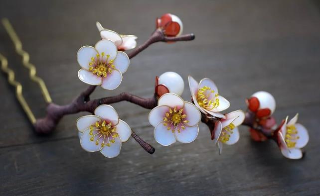 日本手工制作发簪Sakae为什么能流传下去?