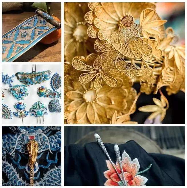 华胜、璎珞、步摇……唯美的古代饰品名字