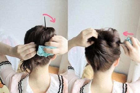 怎么用簪子盘头发简单好看