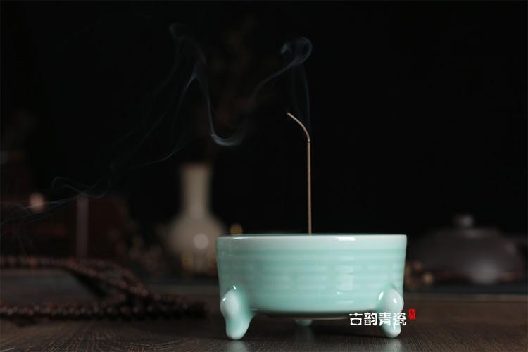 龙泉青瓷檀香炉