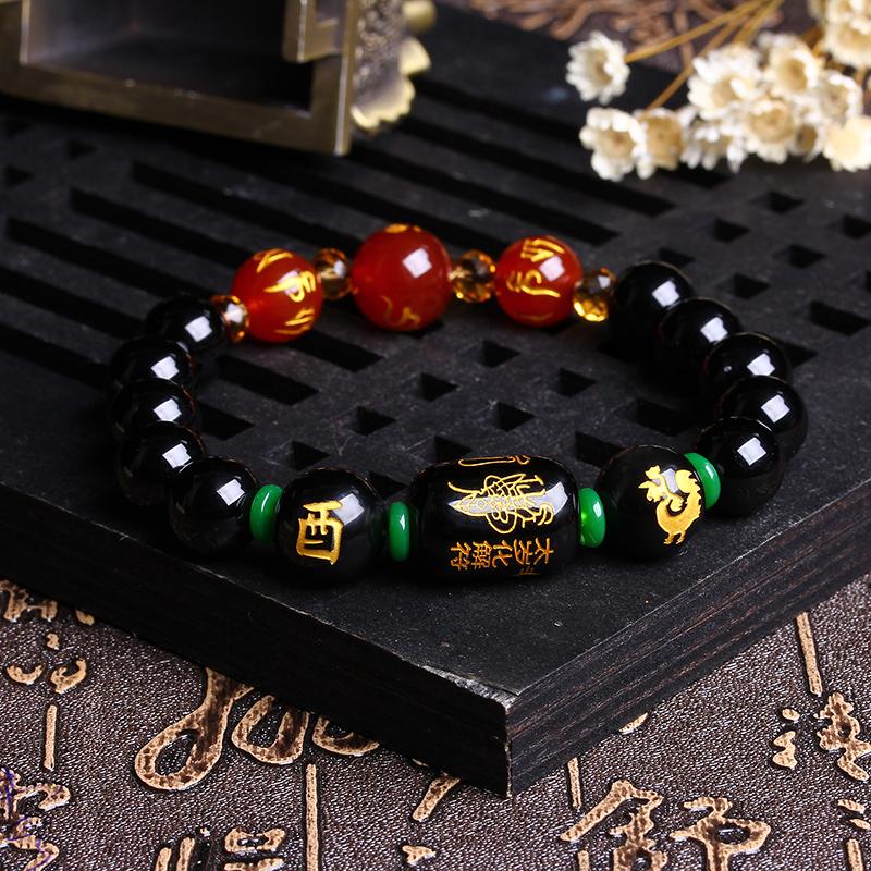 天然玛瑙手链