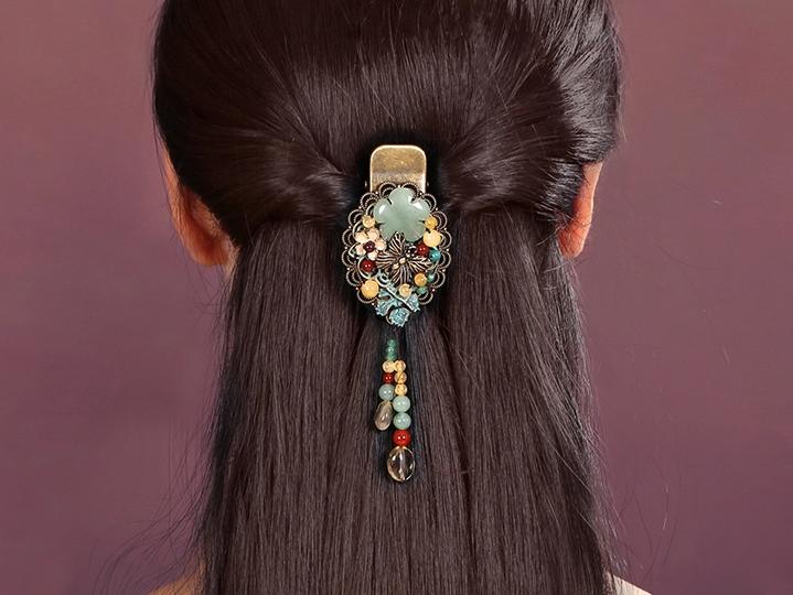 古典发夹鸭嘴夹中式头饰