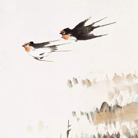 100幅禽鸟百图,国画鸟类美醉了!