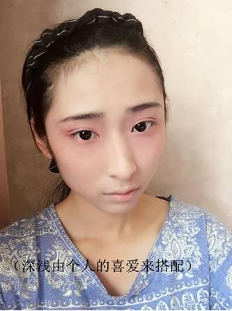 【汉服妆容】汉服桃花妆实用技法-图片19