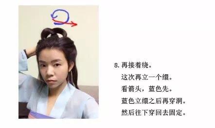 【汉服发型】娇俏的双辫子发型-图片9