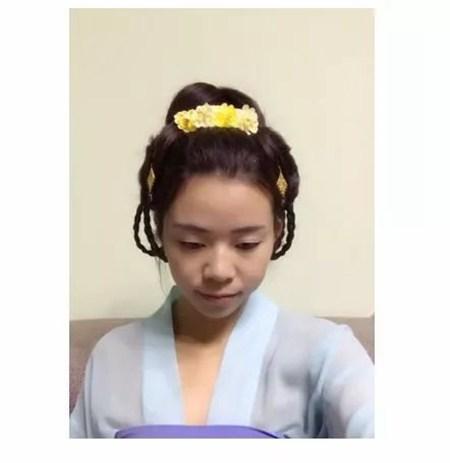 【汉服发型】娇俏的双辫子发型-图片1