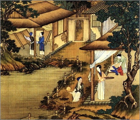 中国24节气古画图,超美国画插画欣赏